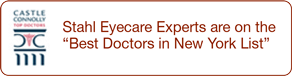 "Stahl Eyecare Experts are on the ""Best Doctors in New York List"""