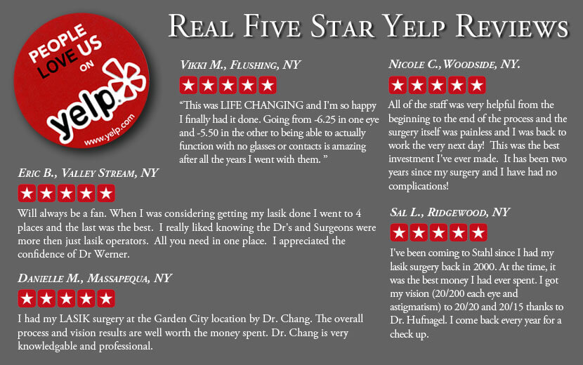 Yelp Reviews for Stahl Eyecare
