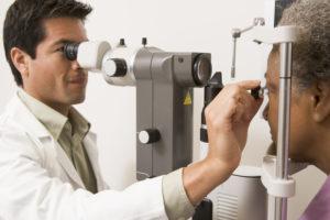 checkup on eyes