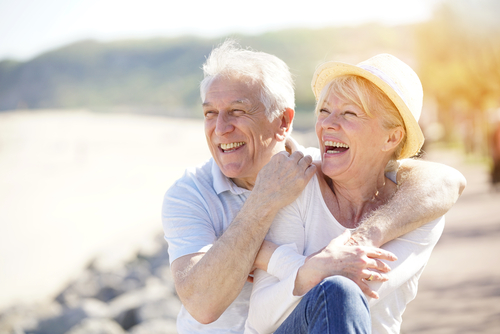 Happy Older Couple After Cataract Treatment
