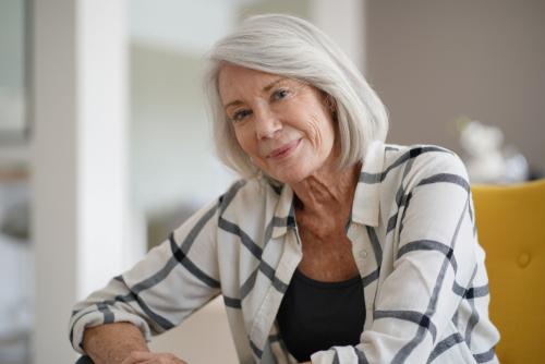 Smiling Older Lady