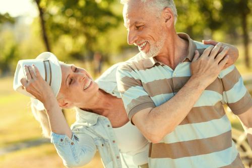 Older Couple Enjoying Life after Cataract Surgery